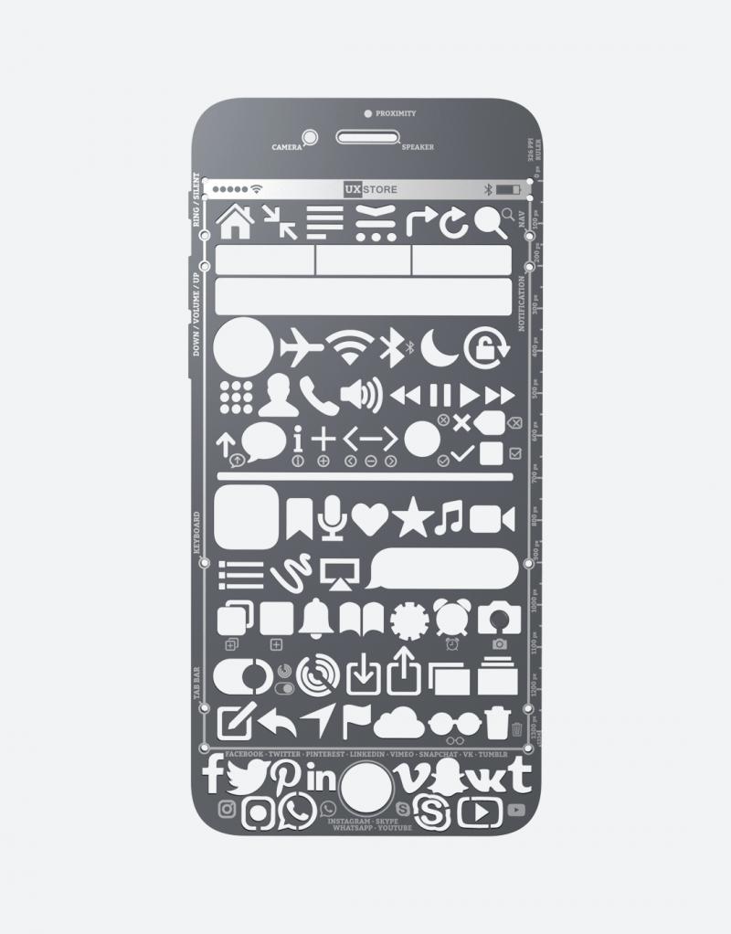 iPhone Stencil