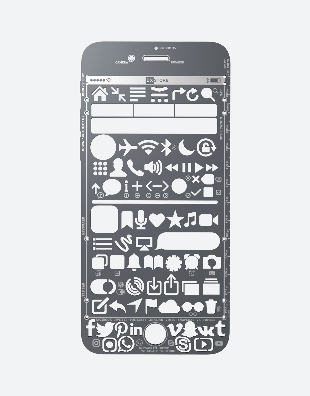 iPhone Stencil - UX Store