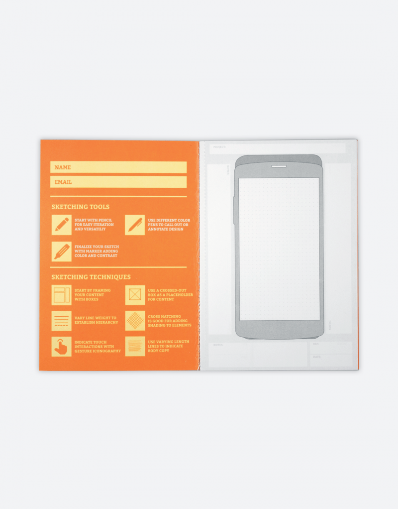 Pocket UX Sketchbook