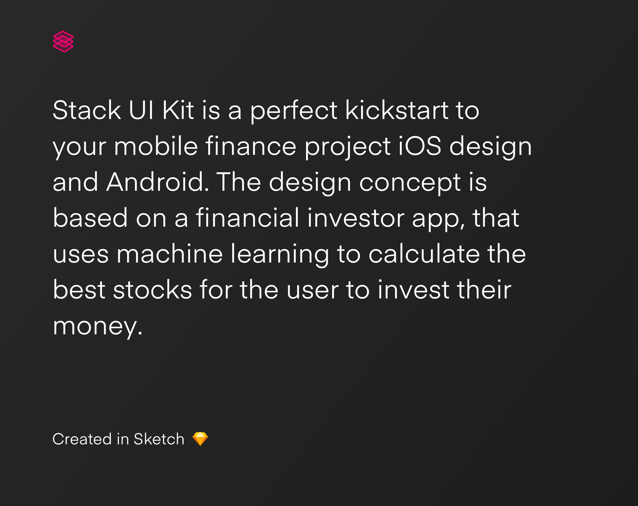 Stack UI Kit: Mobile Finance Project - iOS and Android - UX