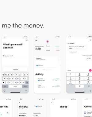 Stack UI Kit: Mobile Finance Project – iOS and Android